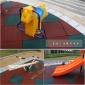 小区减震安全地胶 广州市儿童活动区橡胶地垫安装